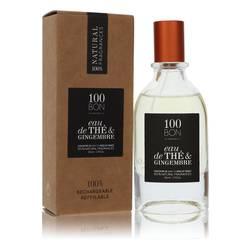 100 Bon Eau De The & Gingembre Cologne by 100 Bon 1.7 oz Concentree De Parfum Spray (Unisex Refillable)