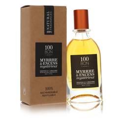 100 Bon Myrrhe & Encens Mysterieux Cologne by 100 Bon 1.7 oz Concentree De Parfum Spray (Unisex Refillable)