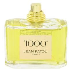 1000 Perfume by Jean Patou 2.5 oz Eau De Parfum Spray (Tester)