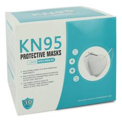 Kn95 Mask Perfume by KN95 1 size Thirty (30) KN95 Masks, Adjustable Nose Clip, Soft non-woven fabric, FDA and CE Approved (Unisex)