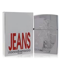 Rocco Barocco Silver Jeans