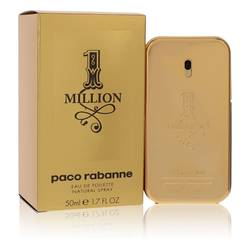 1 Million by Paco Rabanne – Eau De Toilette Spray 1.7 oz (50 ml) for Men