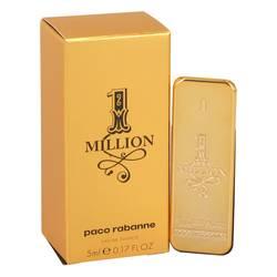 1 Million Mini by Paco Rabanne, .17 oz Mini EDT for Men