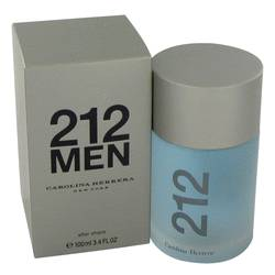 212 by Carolina Herrera – After Shave 3.4 oz (100 ml) for Men