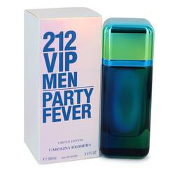 212 Party Fever by Carolina Herrera – Eau De Toilette Spray (Limited Edition) 3.4 oz (100 ml) for Men