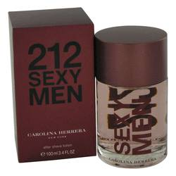 212 Sexy After Shave by Carolina Herrera, 3.3 oz After Shave for Men