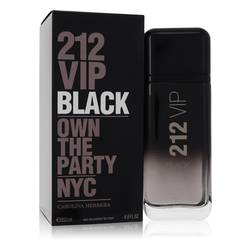 212 Vip Black by Carolina Herrera – Eau De Parfum Spray 200 ml for Men