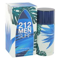212 Surf Cologne by Carolina Herrera 3.4 oz Eau De Toilette Spray (Limited Edition 2014)