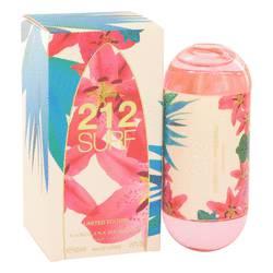 212 Surf Perfume by Carolina Herrera 2 oz Eau De Toilette Spray (Limited Edition 2014)