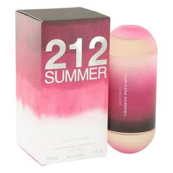 212 Summer Perfume by Carolina Herrera, 2 oz EDT Spray (Limited Edition) for Women