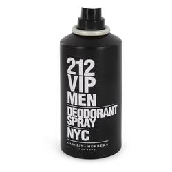 212 Vip Cologne by Carolina Herrera 5 oz Deodorant Spray (Tester)