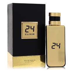 24 Gold Elixir by ScentStory – Eau De Parfum Spray 3.4 oz (100 ml) for Men