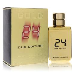 24 Gold Oud Edition by ScentStory – Eau De Toilette Concentree Spray (Unisex) 3.4 oz (100 ml)