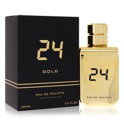 24 Gold The Fragrance by ScentStory – Eau De Toilette Spray 3.4 oz (100 ml) for Men