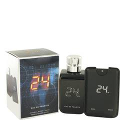 24 The Fragrance by ScentStory – Eau De Toilette Spray + 0.8 oz Mini Pocket Spray 100 ml for Men