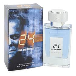 24 Live Another Day by ScentStory – Eau De Toilette Spray 1.7 oz (50 ml) for Men