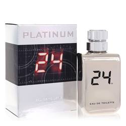 24 Platinum The Fragrance by ScentStory – Eau De Toilette Spray 3.4 oz (100 ml) for Men