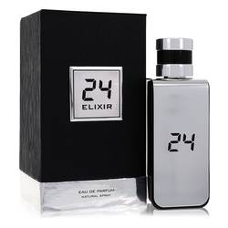 24 Platinum Elixir by ScentStory – Eau De Parfum Spray 3.4 oz (100 ml) for Men
