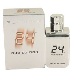 24 Platinum Oud Edition by ScentStory – Eau De Toilette Concentree Spray (Unisex) 3.4 oz (100 ml)