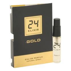 24 Gold Elixir Cologne by ScentStory 0.1 oz Vial (sample)