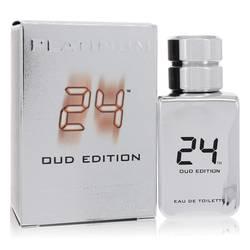 24 Platinum Oud Edition Cologne by ScentStory 1.7 oz Eau De Toilette Concentree Spray