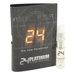 24 Platinum The Fragrance Cologne by ScentStory 0.05 oz Vial (sample)