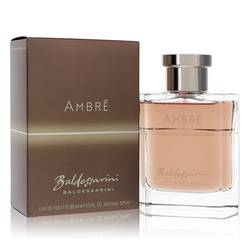 Baldessarini Ambre Cologne by Hugo Boss, 3 oz EDT Spray for Men