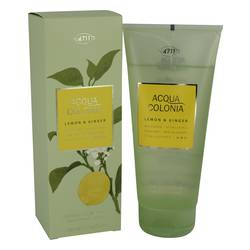 4711 Acqua Colonia Lemon & Ginger Shower Gel by Maurer & Wirtz, 200 ml Shower Gel for Women