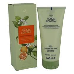4711 Acqua Colonia Mandarine & Cardamom Perfume by Maurer & Wirtz 6.8 oz Body Lotion