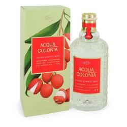 4711 Acqua Colonia Lychee & White Mint Perfume by 4711 5.7 oz Eau De Cologne Spray (unisex)