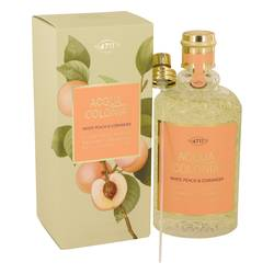 4711 Acqua Colonia White Peach & Coriander Perfume by 4711 5.7 oz Eau De Cologne Spray (Unisex)