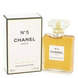 Chanel No. 5 Perfume by Chanel, 1.7 oz Eau De Parfum Spray for Women