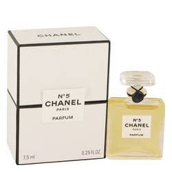 Chanel No. 5 Perfume by Chanel, 1/4 oz Pure Perfume for Women
