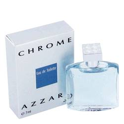 Chrome Cologne by Azzaro 0.23 oz Mini EDT
