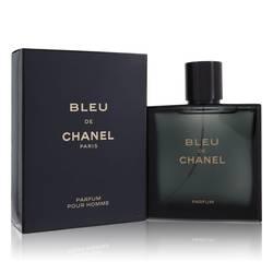 Bleu De Chanel Cologne by Chanel, 3.4 oz Parfum Spray for Men