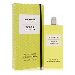 Notebook Citrus & Green Tea