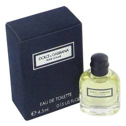 Dolce & Gabbana Mini by Dolce & Gabbana, .15 oz Mini EDT for Men