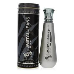 90210 Metal Jeans Cologne by Torand 3.4 oz Eau De Toilette Spray