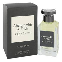 Abercrombie & Fitch Authentic by Abercrombie & Fitch – Eau De Toilette Spray 3.4 oz (100 ml) for Men