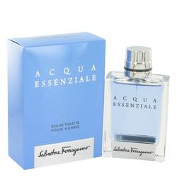 Acqua Essenziale by Salvatore Ferragamo – Eau De Toilette Spray 1.7 oz (50 ml) for Men