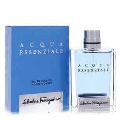 Acqua Essenziale by Salvatore Ferragamo – Eau De Toilette Spray 3.4 oz (100 ml) for Men