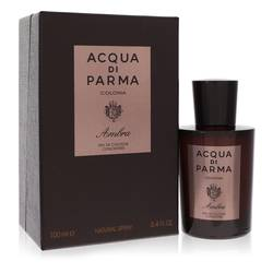 Acqua Di Parma Colonia Ambra by Acqua Di Parma – Eau De Cologne Concentrate Spray 3.4 oz (100 ml) for Men