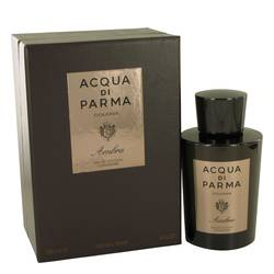 Acqua Di Parma Colonia Ambra by Acqua Di Parma – Eau De Cologne Concentrate Spray 177 ml for Men