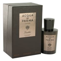 Acqua Di Parma Colonia Leather by Acqua Di Parma – Eau De Cologne Concentree Spray 3.4 oz (100 ml) for Men