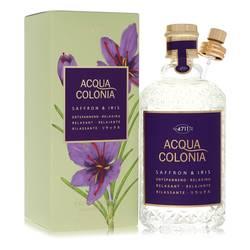 4711 Acqua Colonia Saffron & Iris by Maurer & Wirtz – Eau De Cologne Spray 169 ml for Women