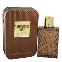 Admiration Pure by Linn Young – Eau De Toilette Spray 3.4 oz (100 ml) for Men