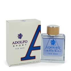 Adolfo Sport by Adolfo – Eau De Toilette Spray 3.4 oz (100 ml) for Men