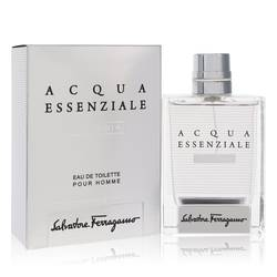 Acqua Essenziale Colonia by Salvatore Ferragamo – Eau De Toilette Spray 3.4 oz (100 ml) for Men