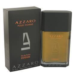 Azzaro Intense Cologne by Azzaro, 3.4 oz Eau De Parfum Spray for Men