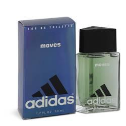 Adidas Moves Cologne by Adidas, 1.7 oz Eau De Toilette for Men